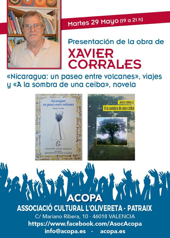 Presentación de la obra de Xavier Corrales