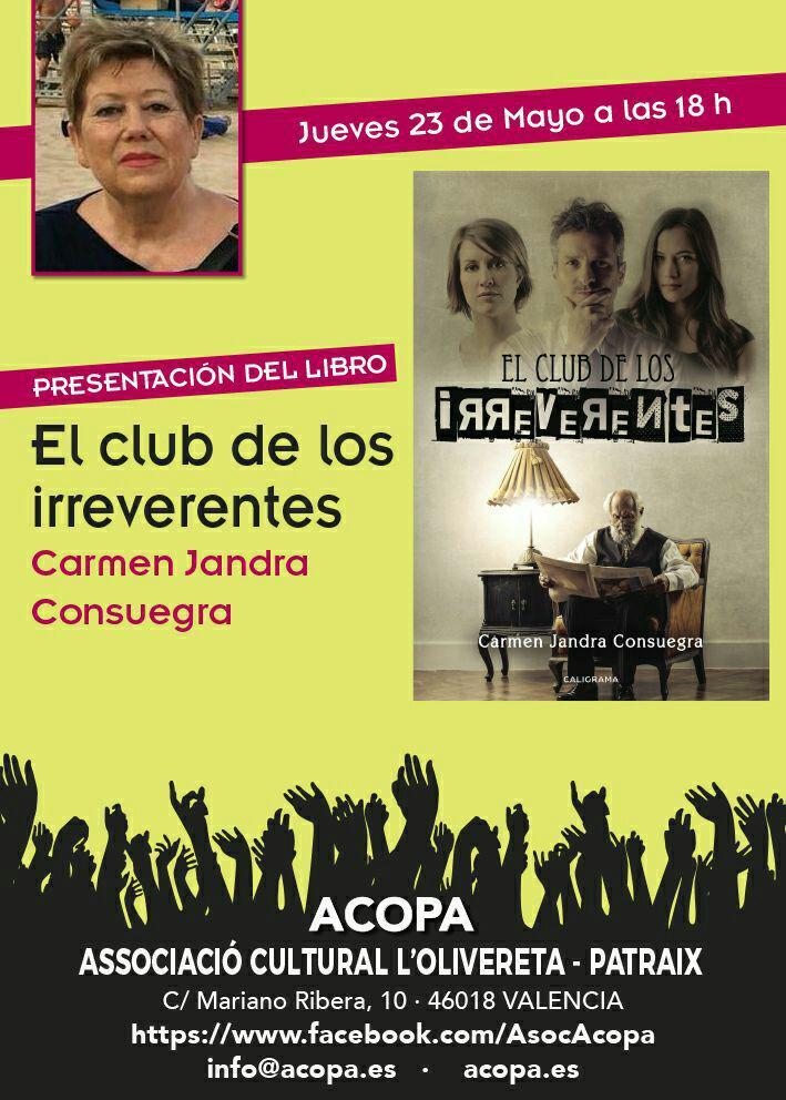 Presentación libro Carmen Jandra